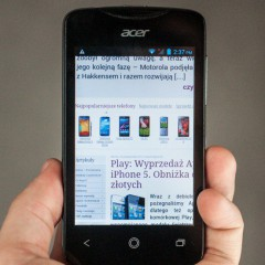 Wideotest telefonu Acer Liquid Z3