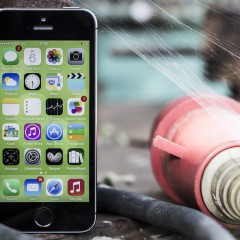 Apple iPhone 5s  wideotest telefonu