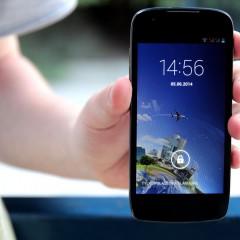 Kazam Thunder Q4.5  wideotest telefonu