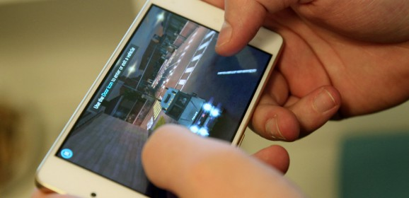Kazam Tornado 348  wideotest telefonu