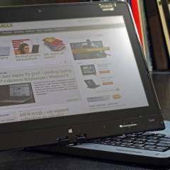 Wideotest laptopa Lenovo ThinkPad S230U Twist