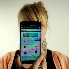 LG G Flex  wideotest telefonu