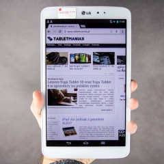 Wideotest tabletu LG G Pad 8.3