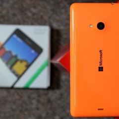 Microsoft Lumia 535 Dual SIM  wideotest telefonu