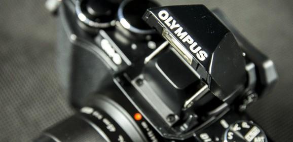 Olympus OM-D E-M10  wideotest aparatu