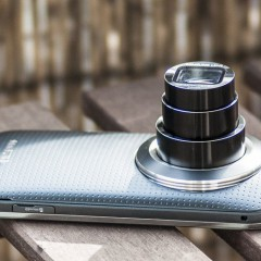 Samsung Galaxy K Zoom  wideotest telefonu