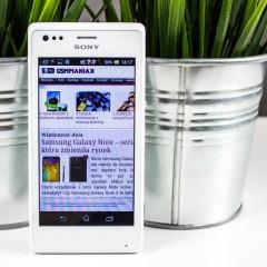 Wideotest telefonu Sony Xperia M (C1905)
