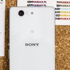 Sony Xperia Z3 Compact  wideotest telefonu