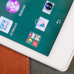 Sony Xperia Z3 Tablet Compact  wideotest tabletu