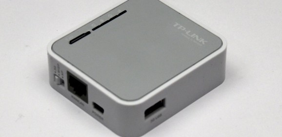 TP-LINK TL-MR3020  wideotest mobilnego routera 3G