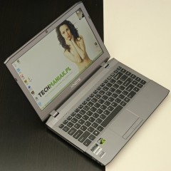Wideotest laptopa XNOTE W230ST
