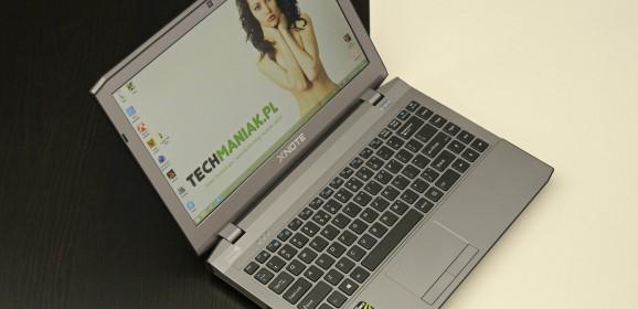 Wideotest laptopa XNOTE W230ST