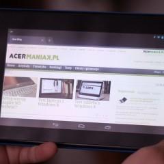 Wideotest: Acer Iconia Tab B1-A71  niedrogi tablet (nie tylko) dla dziecka