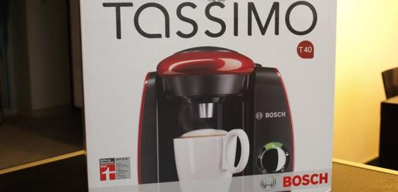 Wideotest ekspresu do kawy Bosch Tassimo T40