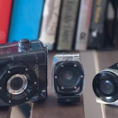 Wideotest trzech kamer sportowych Overmax