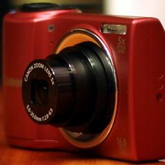 Wideotest: Canon PowerShot A810  prosty kompakt na paluszki