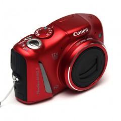 Wideotest Canon PowerShot SX150 IS  kieszonkowy kompakt na baterie AA