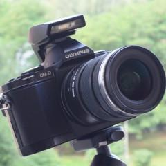 Olympus OM-D E-M5  wideotest aparatu