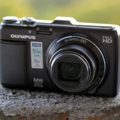 Olympus SH-25MR  wideotest kieszonkowego aparatu z GPS