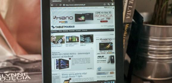 Wideotest tabletu Omega MID 8501 Meteor