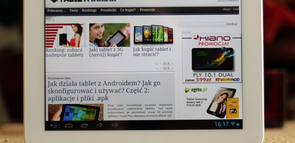 Shiru Emperor 10  wideotest tabletu 9.7 z ekranem (prawie) Retina