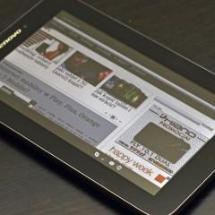 Lenovo IdeaPad A2107A  wideotest taniego tabletu z Dual-SIM 2G/3G (Aero2) i GPS
