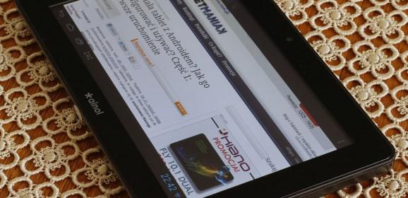 Ainol Novo 7 Crystal II   wideotest taniego tabletu 7 z 4-rdzeniowym procesorem