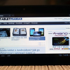 Overmax DualDrive  wideotest tabletu 7 z GPS i DVB-T