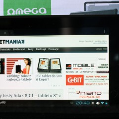 Wideotest: Omega MID7108  nieduży tablet z IPS za mniej, niż 360 złotych