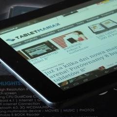Wideotest: GOCLEVER TAB M813G – tani tablet z GPS i 3G, obsługujący Aero2
