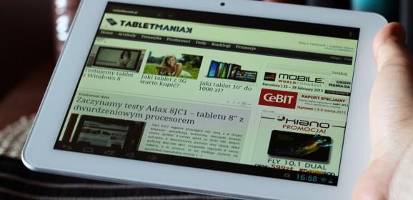 Wideotest: Vido N80RK  niedrogi, ale wydajny tablet z pojemną baterią