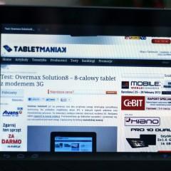 Overmax DualDrive MAX  wideotest dużego tabletu z nawigacją
