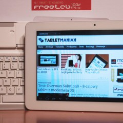 Wideotest: Modecom FreeTAB 1002 IPS X2 – tablet z ekranem IPS i klawiaturą Bluetooth