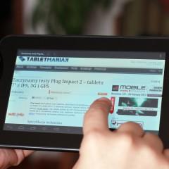 Wideotest: Plug Impact 2  niedrogi tablet z IPS, 3G, GPS i HDMI