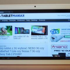 Wideotest: Shiru Shogun 10 Ultimate  tablet z ekranem IPS Full HD