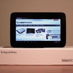 Wideotest: Kruger&Matz KM0793  tablet z IPS za mniej, niż 400 zł