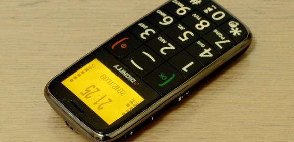 Wideotest: telefon Dual SIM dla seniora
