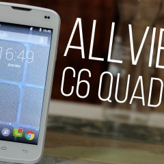 Allview C6 Quad 4G  wideotest telefonu