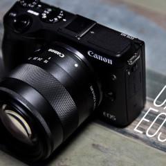 Canon EOS M3  wideotest aparatu