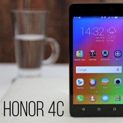 Honor 4c  wideotest telefonu