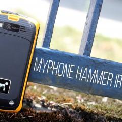 myPhone Hammer Iron  wideotest telefonu