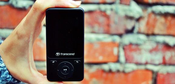 Transcend MP710  wideotest odtwarzacza dla aktywnych