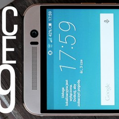 HTC One M9  wideotest telefonu