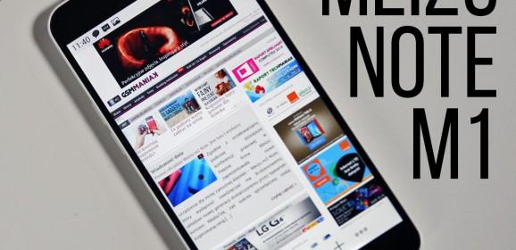 Meizu M1 Note  wideotest telefonu