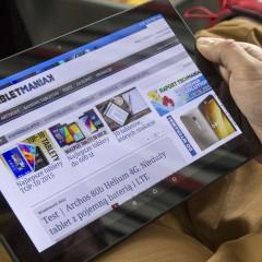 Sony Xperia Z4 Tablet  wideotest tabletu z klawiaturą BKB50