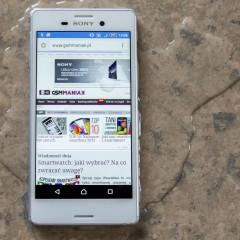 Sony Xperia M4 Aqua  wideotest telefonu