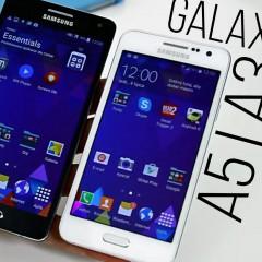 Samsung Galaxy A5 i Galaxy A3  wideotest telefonów