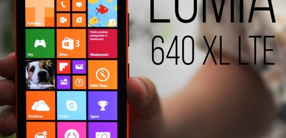 Microsoft Lumia 640 XL LTE  wideotest telefonu