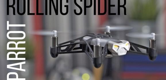Wideotest | Parrot Rolling Spider. Ten niepozorny dron jest lepszy, niż Ci się wydaje