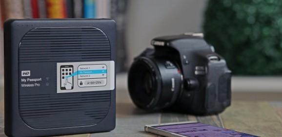WD My Passport Wireless Pro z WiFi – wideotest zewnętrznego dysku (nie tylko) dla fotografa